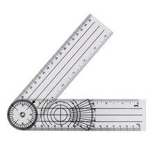 NICEYARD Winkel Medizinische Spinal Herrscher Goniometer Protractors Multifunktions Goniometer 360 Grad Rotation Mess Werkzeug