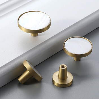Gold Copper Knobs Pulls