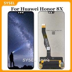 Lcd pour Huawei Honor 8X Lcd JSN-AL00 JSN-L22 JSN-L21 écran tactile numériseur LCD affichage assemblage pièces de rechange