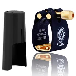 Mouthpiece Saxophone Bb-Clarinet Hard-Rubber Soprano Ligature Tenor-Baritone Alto Used