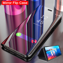 Mirror Flip Case For Samsung Galaxy Note 10 Pro 9 8 A50 A40 A60 A70 A20e A30 A20 A10 A9 A7 A6 J4 J6 2018 S8 S9 S10e S10 Plus 5g(China)