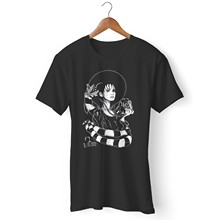Lydia Deetz Goth Occult Beetlejuice Punk Gothic Stran Man and Woman T-Shirt Women tshirt(China)