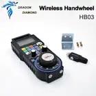Новейший беспроводной Радиочастотный электронный маховик с ЧПУ HB03 дистанционный подвесной MPG USB маховик для гравировального станка с ЧПУ - 6