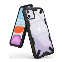 Ringke Fusion X pour iPhone 11 étui résistant à labsorption des chocs Transparent dur PC dos coque souple en polyuréthane thermoplastique couverture