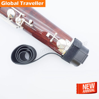 1 piece Bassoon strap adjustable cup bassoon leather seat