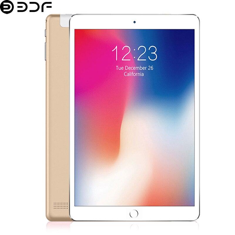 2019 Original 10.1 pouces tablette 4G/3G appel téléphonique Android 7.0 Octa Core 4GB + 64 GB/32 GB ROM double sim-kaart Wi-Fi IPS tablette PC