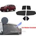 Высококачественная Автомобильная шторка для Jeep Wrangler 2007-2018  6 шт.  магнитная шторка для автомобиля  Солнцезащитная шторка для автомобильного ...
