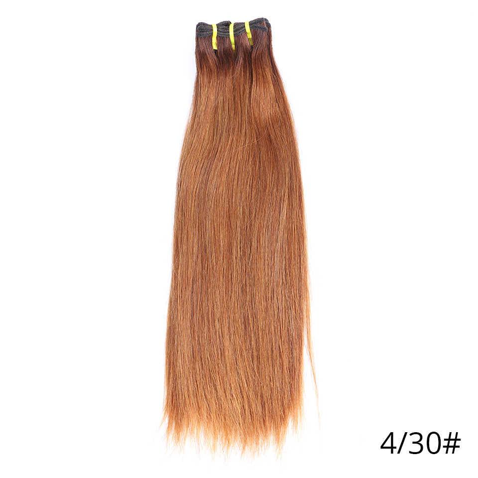Königin Nala OneCut Haar 12A Funmi Haar Brasilianische Haar Bundles Unverarbeitete Virign Haar Natürliche Farbe Doppel Gezogen Schuss