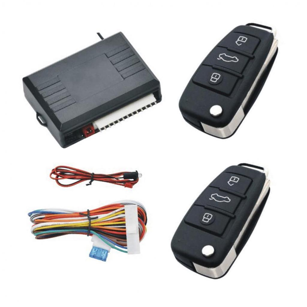 Universal Car alarm system Auto Door Remote Central Control Lock Locking Keyless LED Keychain Central Kit Door Lock