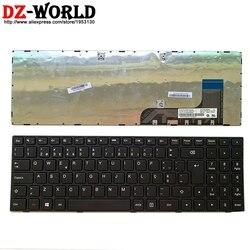 Nowa oryginalna czarna portugalia klawiatura do lenovo Ideapad 100 15IBY B50 10 serii laptopa Teclado 5N20H52645 w Zamienne klawiatury od Komputer i biuro na