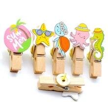 Wooden-Clip Thumbtack Tack-Pin Nailed Push-Pins Stationary-Binding DIY Wall-Safety Office