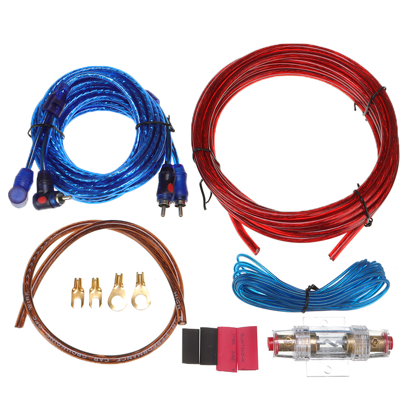 for car audio wire wiring amplifier cable subwoofer speaker installation  kit amp fuse holder car electronics accessories| | - aliexpress  aliexpress