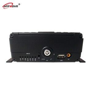 HYFMDVR precio barato tarjeta SD + hdd AHD 720P 3G GPS WIFI MDVR autobús móvil DVR/barco PAL/NTSC