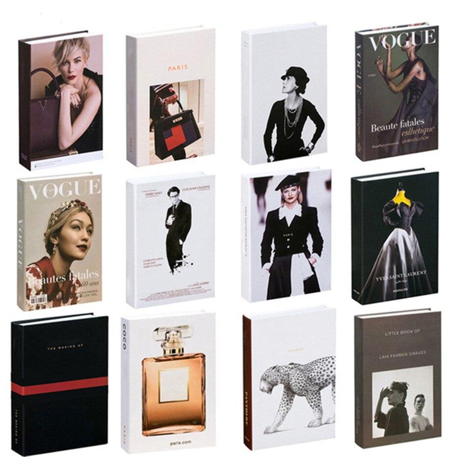 Современная модная декоративная книга, домашний декор, модель комнаты, кабинета, мягкая поддельная книга, декор для женской гостиной