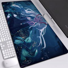 2020 New Anime Mouse Pad with Natural High-end Rubber Non-slip Girl Keyboard Large Gaming Alfombilla Raton