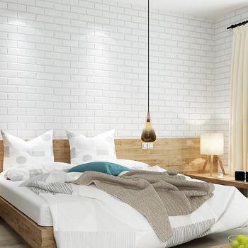 10m waterproof modern minimalist white brick pure paper wallpaper for bedroom living room office kitchen wall papers home decor pure paper wallpaper modern minimalism wallpaper for bedroom living room office kitchen wall papers home decor bedroom decor w
