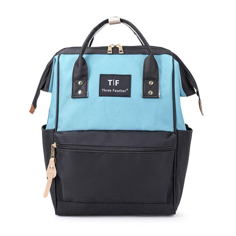 Модный рюкзак для подгузников для мам, Большая вместительная сумка для подгузников, водонепроницаемая сумка для подгузников, дорожная сумка для детских колясок - Цвет: BG