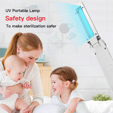 Rechargeable Portable UV Sterilization Household Mite removal UV Sterilizer Light Tube Personal Care Supplies Ozone sterilizer uv sterilizer professional tools disinfecting cabinets sterilization household nail salon spa beauty instrument clean appliances