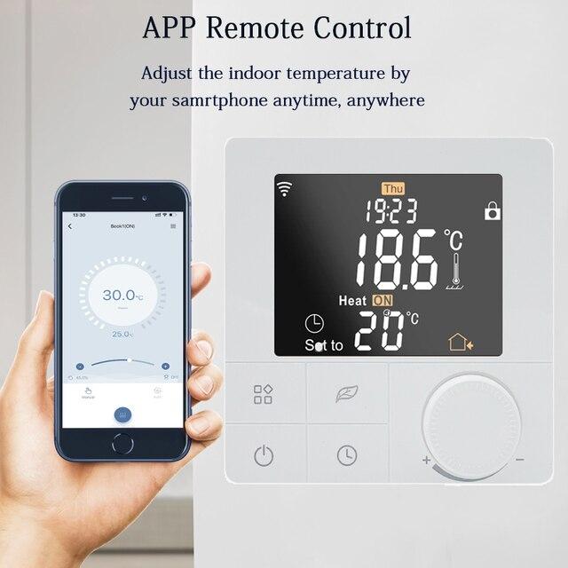 Termostato inteligente Wifi Beok 4