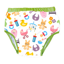 Printed Black Cat DDLG Adult Traninning Pant With Padding Inside For Adult Baby Pants Adult Baby Brief Trainning Pants