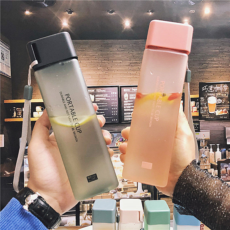 Hb962cbd4486c43d885f796b84ea9dae2l 480ml Sports Cycling Camping Readily Space Bottle Health Lemon Juice Milk Water Bottle