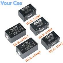 Мини-модуль питания с изоляцией, 220 в-12 в/5 в, с изоляционным выключателем, модуль электропитания для AC-DC/5 в, с/2/5 в, модуль питания с изоляцией, ...