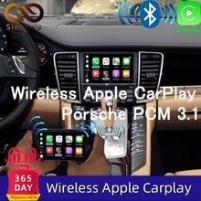Sinairyu OEM kablosuz Apple CarPlay Porsche PCM 3.1 Android otomatik Cayenne Macan Cayman Panamera Boxster 718 991 911 araba oyun