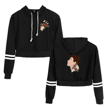 Coat Popular Shawn Mendes Navel-Hoodie Girls Fashion Casual