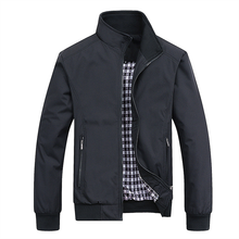 Bomber-Jacket Golf-Clothes Overcoat Spring Autumn Men Tops Baseball Slim Casual Solid