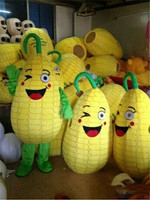 Corn Maize Cartoon Fancy Mascot Costume Suits Party Game Outfits Clothing Advertising Promotion Carnival Halloween Xmas Adults