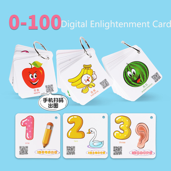 218 pcs see pictures literacy card preschool children early education pictogram card kindergarten early education 0-6 years old