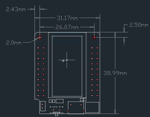Image 2 - Mini32 Wi Fi Bluetooth モジュール開発ボード ESP32 WROVER B PSRAM EM88