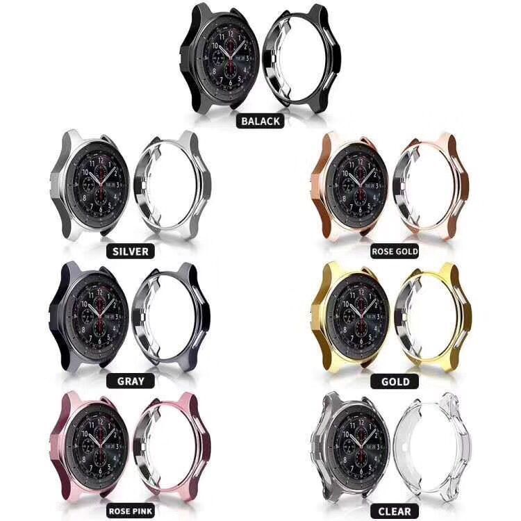 Protective Soft TPU Case Cover For Galaxy Gear S3 Cover Shell For Frontier Samsung Watch 46mm 42mm Protective Bumper Shell