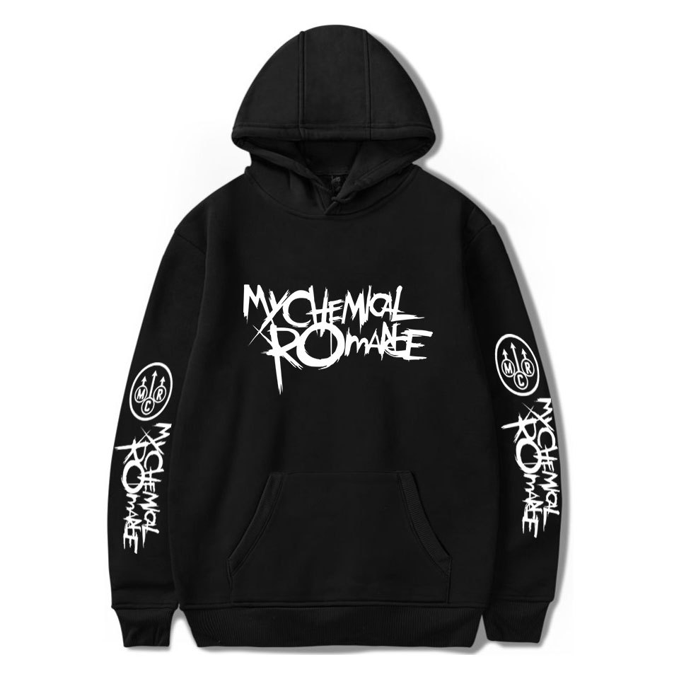 My Chemical Romance Hoodies Men Women Black Parade Punk Emo Rock Hoodie Sweatshirt Autumn Winter Jacket Coat Oversized Clothes
