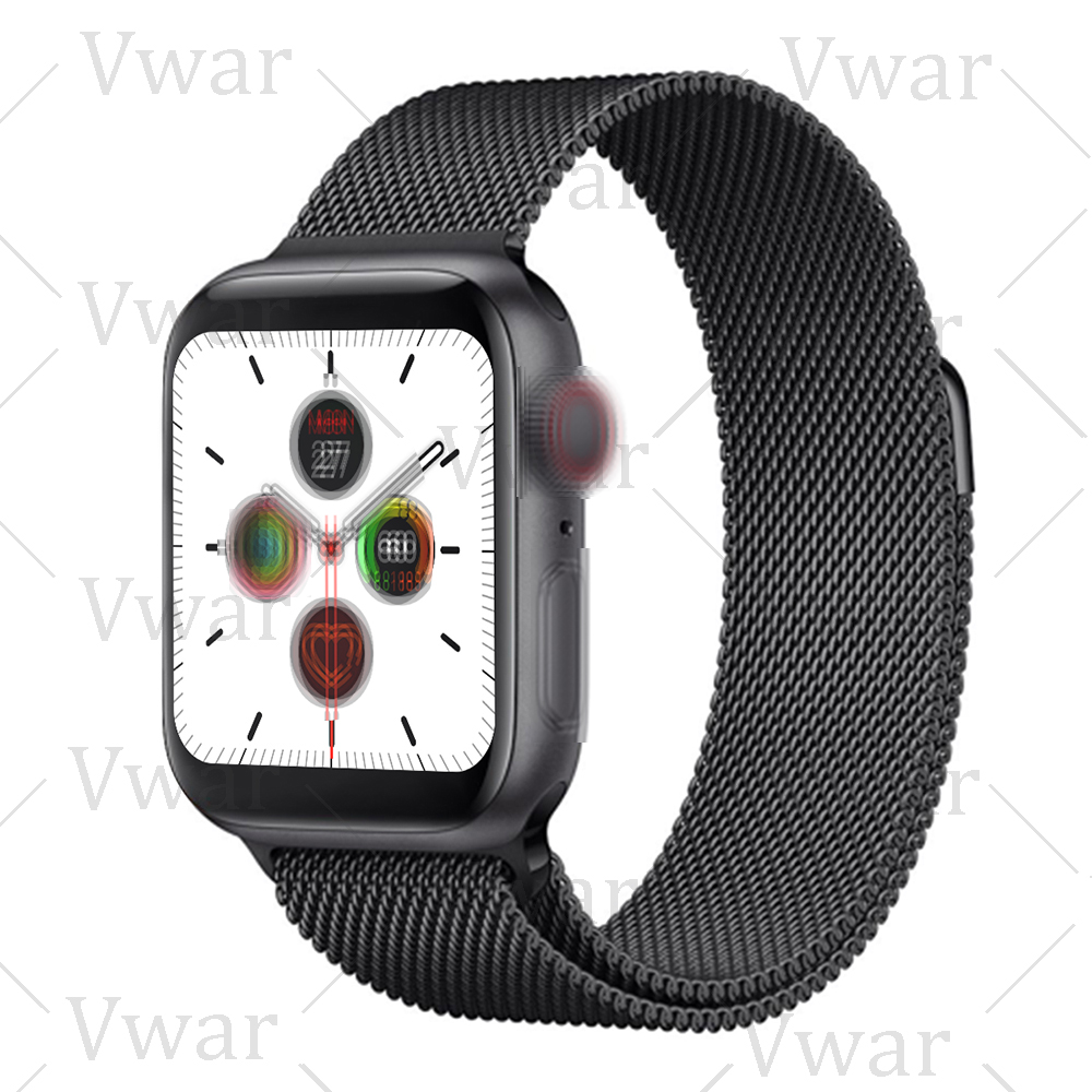 2020 <font><b>IWO</b></font> 14 Serie 5 IWO14 <font><b>Smart</b></font> Uhr 44MM Für Apple IOS Android telefon Herz Rate Bluetooth anruf Musik player PK <font><b>IWO</b></font> 12 8 image