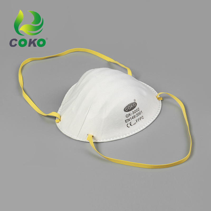 Industrial Cup Anti-Particulate Matter Face Mask N95 Head-Mounted With Breather Valve Anti-formaldehyde Haze Labor Safety Face M