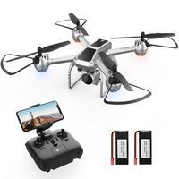 Holy Stone-Dron con cámara HD HS140, 1080P, FPV, modelo Profesional plegable sin cabeza, Dron RC, mantenimiento de altitud, cuadricóptero cuadcóptero
