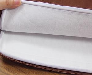 Image 3 - Waterdichte Lederen Laptop Sleeve Bag Notebook Case Cover Pouch Voor 12 13 15 inch Macbook Air Pro Retina