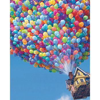 Nowy 5D majsterkowanie malowanie diamentowa ścieg kolorowy dom balonowy robótki haft diamentowy pełny diament dekoracyjny tanie i dobre opinie OBRAZY CN (pochodzenie) PAPER BAG Pojedyncze Z żywicy Pełna Tak ( 50 sztuk) Floral Zwijane 1-30 Okrągły Nowoczesne
