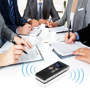 Image 3 - Kebidumei mini gravador de voz, 8gb, mini usb, flash, gravador de voz digital, 650hr, dictaphone, mp3 player
