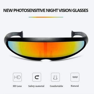 New Photosensitive Night Vision Glasses Driver Goggles Eyewear UV Protection Sunglasses Outdoor Travel Night Vision Goggles