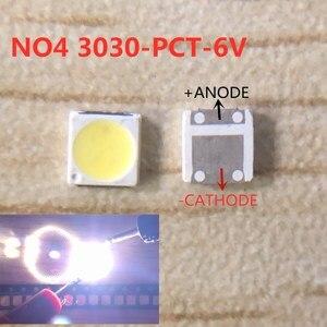 200 шт. EVERLIGHT светодиодный Подсветка 2 Вт 3030 6V 3В холодный белый 125-150LM ЖК-дисплей Подсветка для ТВ Применение 62-123TUN2C/F110140N57SBF