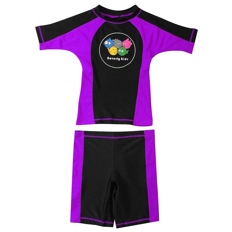 KID'S Swimwear GIRL'S GIRL'S Swimsuit Split Type Sun-resistant Bathing Suit Female Baby Infant Princess Hot Springs Tour Bathing