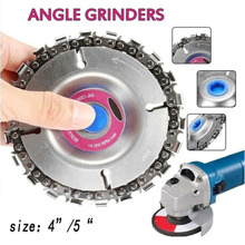 Angle grinder woodworking chain plate wood slotted sawblade woodworking chain plate cutting piece