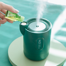 NIUXILIFE 330ML Portable Wireless Cactus Air Humidifier USB Rechargeable Humidifier Aromatherapy Diffuser Oils Air Humidifiers