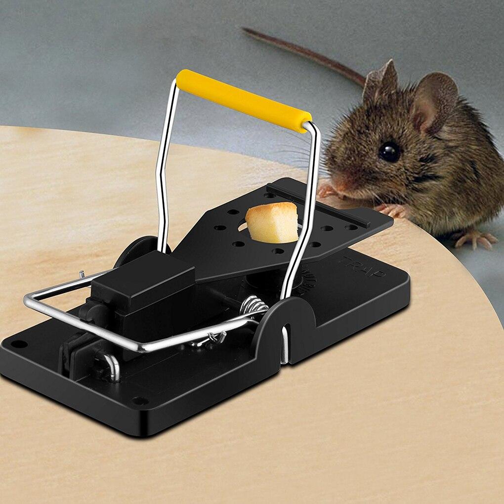 Yeniden kullanılabilir sıçan alıcı fareler fare kapanları fare kapanı yem yapış bahar kemirgen yakalayıcı haşere kontrolü