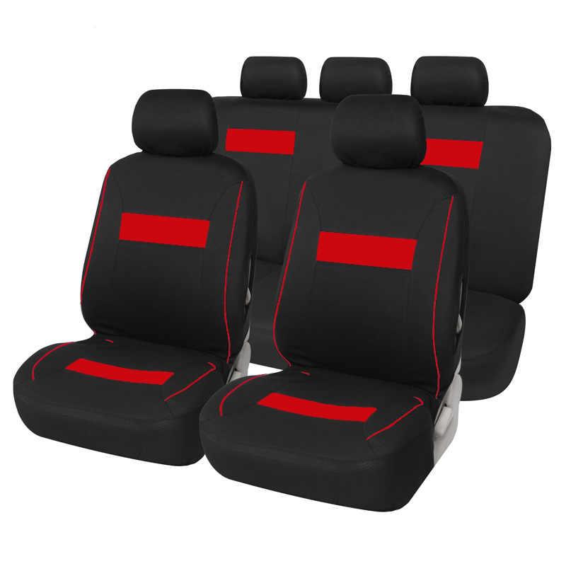 Full Coverage Flax Fiber รถยนต์ที่นั่งอัตโนมัติสำหรับ Toyota 4 RUNNER 86 ALPHARD ALTIS AVALON CAMRY CELICA CH-R COROLLA