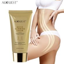 AUQUEST odchudzanie krem do ciała odchudzanie na brzuch masaż wyszczuplający cellulit Remover krem skóra ujędrniający spalanie tłuszczu pielęgnacji ciała
