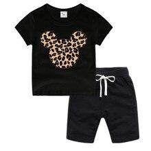 Little Boy Girl Anime Mouse Cotton T-Shirt Summer Kids Christmas Shirt Children Cartoon Toddler Tshirt