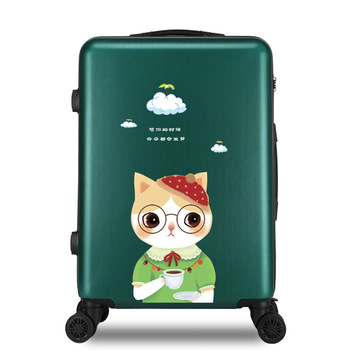 цена на Rolling Luggage suitcase Spinner Trolley Suitcase Wheels Kids Carry On Travel Bag men Women suitcase 20 24 26inch